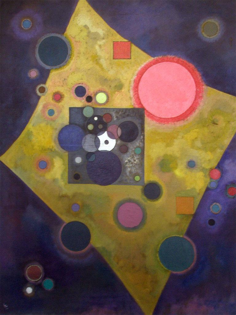 Wassily Kandinsky art question?